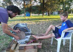Machine à laver à pédales – 1er test !