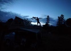 Le toit de Songo comme piste de décollage !