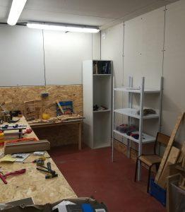 Atelier de bricolage